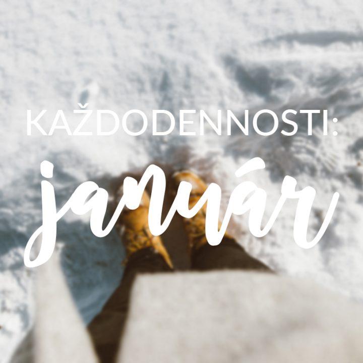 Každodennosti: Január